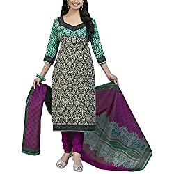 Varsha Women Cotton Dress Material (Varsha713 _Multi-Coloured)