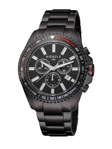 Kienzle K3051043042-00067 - Orologio da polso uomo, acciaio inox, colore: nero