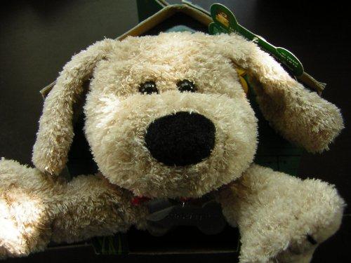 Starbucks Barkista Plush Tan Puppy Dog 1st Edition 2003 - 1