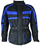1152 Bangla Motorradjacke Tourenjacke Schwarz Blau 5XL
