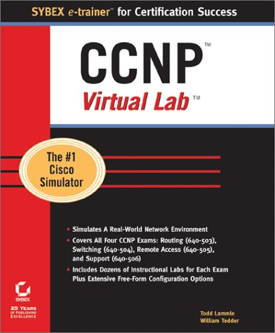 CCNP Virtual Lab (CD-ROM) with Book (Sybex E-Trainer Certification Course)