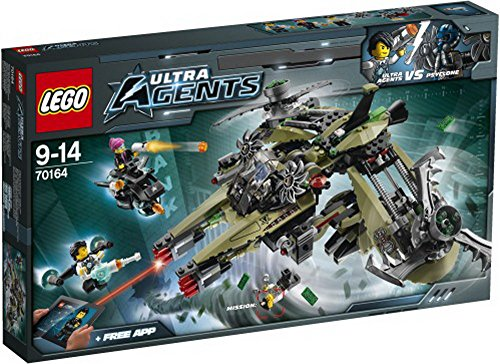 Lego Ultra Agents 70164 Hurrikan-Überfall, 1Stück