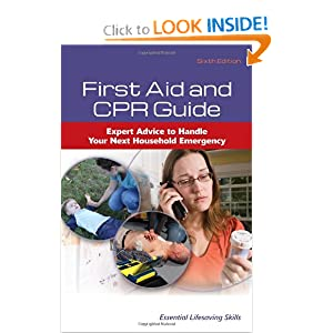 First Aid And CPR Guide by American Academy of Orthopaedic Surgeons (AAOS) and American College of Emergency Physicians (ACEP)