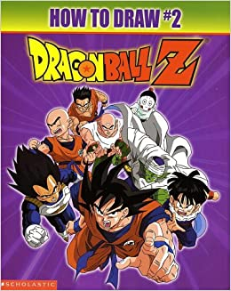 how to draw dragon ball z characters book