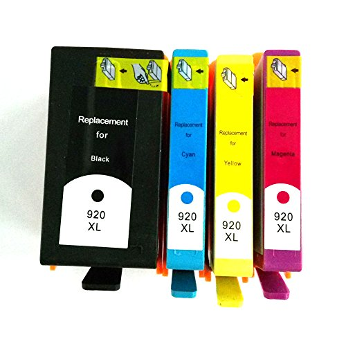 Hp 920Xl(Black/Cyan/Magenta/Yellow) Ink Cartridge For Hp Officejet 6500 Wireless Printer - Premium Bavvo® Remanufactured Product