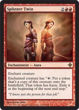 Magic: the Gathering - Splinter Twin - Rise of the Eldrazi