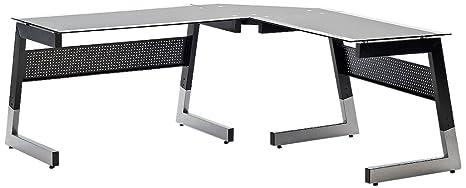 Robas Lund Schreibtisch Winkelschreibtisch BIG XL 201x 78x 80cm 43502X11