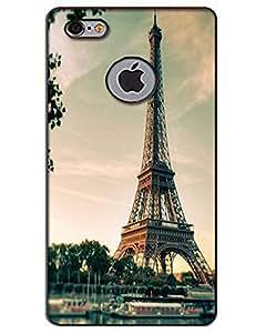 WEB9T9 I phone 6 logo Cut back cover Designer High Quality Premium Matte Finish 3D Case