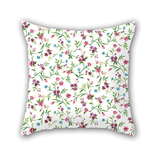 PILLO Flower Pillow Covers 16 X 16 Inches / 40 By 40 Cm For Drawing Room,boys,play Room,father,club,couch With Each Side