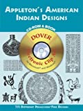 img - for Appleton's American Indian Designs CD-ROM and Book (Dover Electronic Clip Art) book / textbook / text book