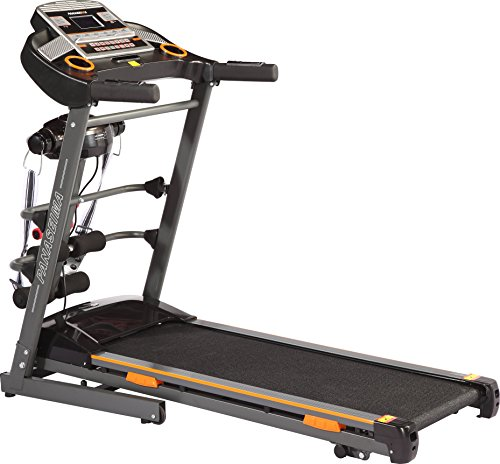 Panaseima PSM-420 Multifunction Foldable Motorized Treadmill, Large (Black) with service centres all over india