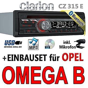 Opel omega b-clarion cZ315E-avec kit de montage