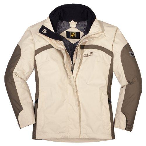Jack Wolfskin Regenjacke Topaz Jacket Women ivory (Größe: XS