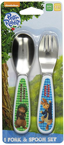 NUK Peter Rabbit Fork and Spoon Set - 1