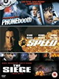 Phone Booth/Speed/The Siege [DVD]