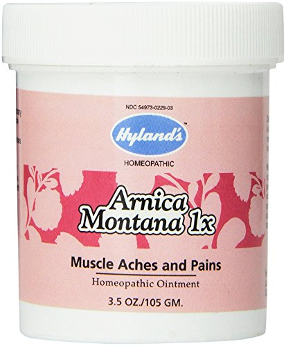 Read About Hyland's Arnica Montana Ointment Gel, Natural Relief for Muscle Aches, Swelling, Bruises and Pains, 3.5 Ounce