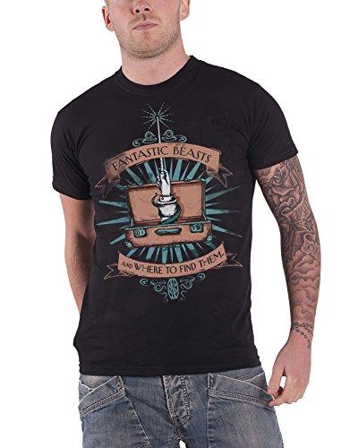 Fantastic Beasts Wand Case T-shirt