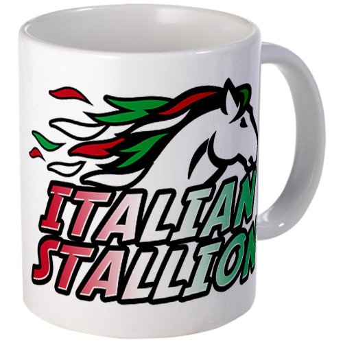 Italian Stallion Mug Mug By Cafepress