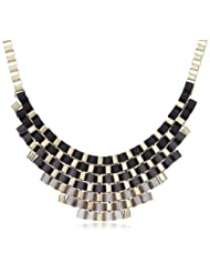 Bansri Multi-strands Necklace For Women (Black) (N8133 BLK - J2)