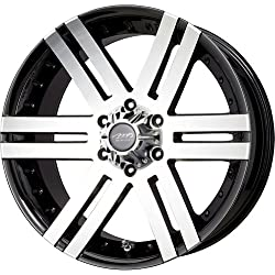 MB Wheels Vortex Black Machined Face Wheel with Machined Finish (18×8.5″/6x135mm)