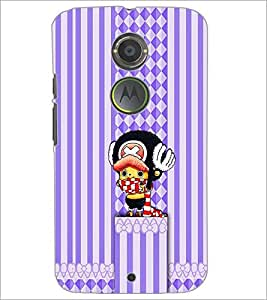 PrintDhaba Cartoon D-1959 Back Case Cover for MOTOROLA MOTO X2 (Multi-Coloured)