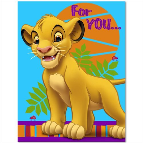 Lion King Thank You Notes w/ Envelopes (8ct)