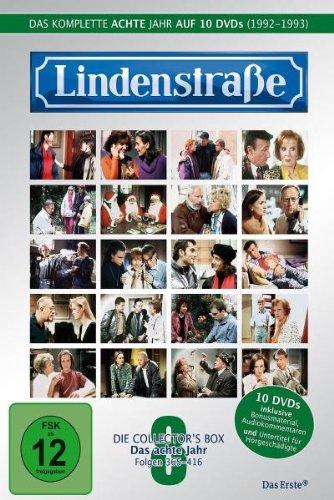 Die Lindenstraße - Das achte Jahr, Folge 365-416 [Collector's Edition] [10 DVDs]