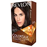 Revlon ColorSilk Ammonia-Free Permanent Haircolor, Brown Black 20, Level 3