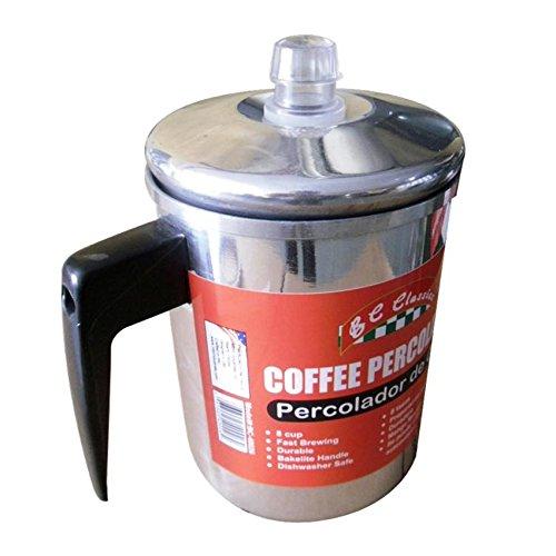 Bene Casa Aluminum Coffee Percolator, 8 Cup