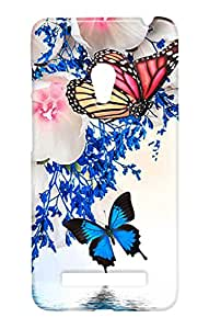 Ally Printed 3D Back cover for Asus Zenfone 5