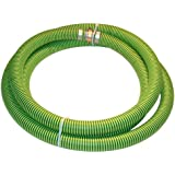 Kanaflex 300 EPDM Series EPDM Suction Hose Assembly, Green/Black, Male X Female Water Shanks