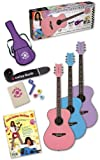 Daisy Rock Pixie Acoustic Guitar Starter Pack, Pixie Purple
