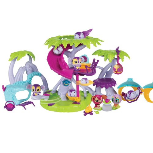 zoobles  treehouse playset	set of game