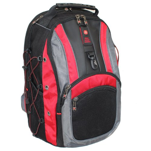 Swissgear The Hudson Ii 16-Inch Laptop Computer Backpack Red Nwt