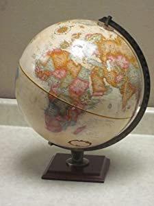 Wide World Antique Ocean Globe