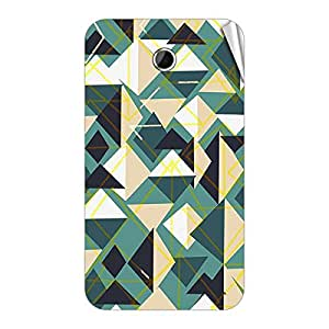Garmor Designer Mobile Skin Sticker For Lenovo S880 - Mobile Sticker