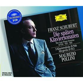 Schubert: 3 Klavierst�cke, D.946 - No.1 In E Flat Minor (Allegro assai)