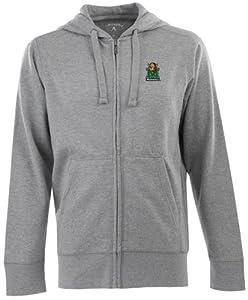 Marshall Signature Full Zip Hooded Sweatshirt (Grey) by Antigua