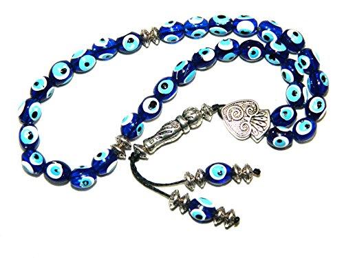 A2-0121 - Prayer Beads Worry Beads Tasbih Lucky Evil Eye Beads Handmade by Jeannieparnell