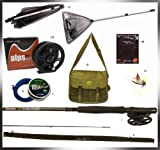 Complete Ready-to-go Fly Fishing Starter Kit. Everything you need to start enjoying fly fishing! Great gift idea suitable for all ages.