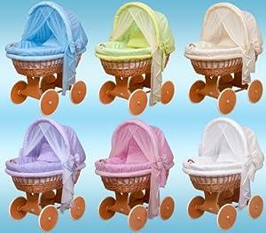 WALDIN Cuna Moisés, carretilla portabebés XXL, 6 colores a elegir en BebeHogar.com