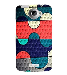 EPICCASE Paint palette Mobile Back Case Cover For HTC One X (Designer Case)