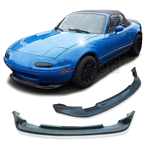NEW - 90-97 Mazda Miata MX5 GV Style Front PU Bumper Add on Lip (Miata Side Skirts compare prices)