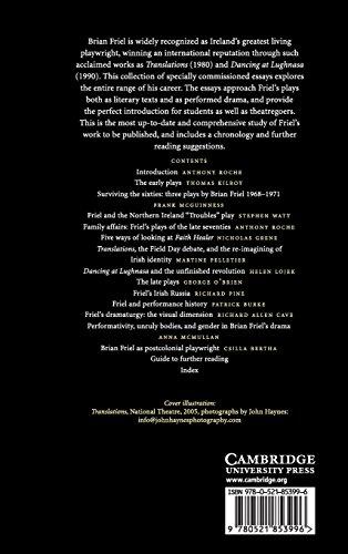 The Cambridge Companion to Brian Friel Hardback (Cambridge Companions to Literature)