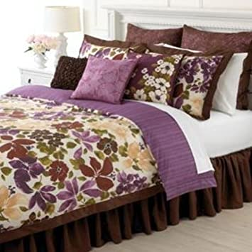 Elegant Martha Stewart Paradiso u Piece Comforter Set Twin Full Queen