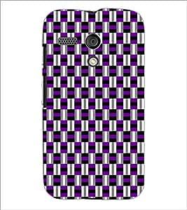 PrintDhaba Pattern D-5918 Back Case Cover for MOTOROLA MOTO G (Multi-Coloured)