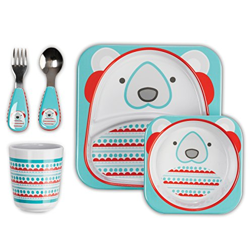 Best Prices! Skip Hop Zoo Winter Feeding Set, Polar Bear