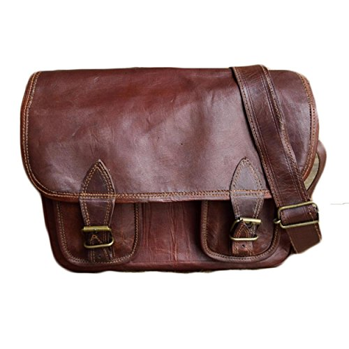 NK Vintage Leather Brown Sling Bag