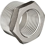 Stainless Steel 316 Cast Pipe Fitting, Hex Bushing, MSS SP-114, NPT Male X Female