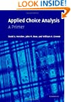 Applied Choice Analysis: A Primer